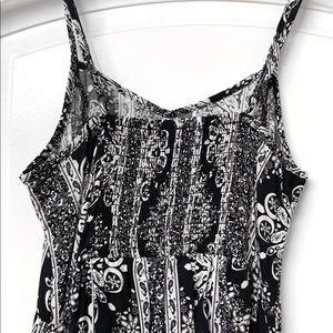H&M Dresses - H&M Black and White Long Maxi Dress
